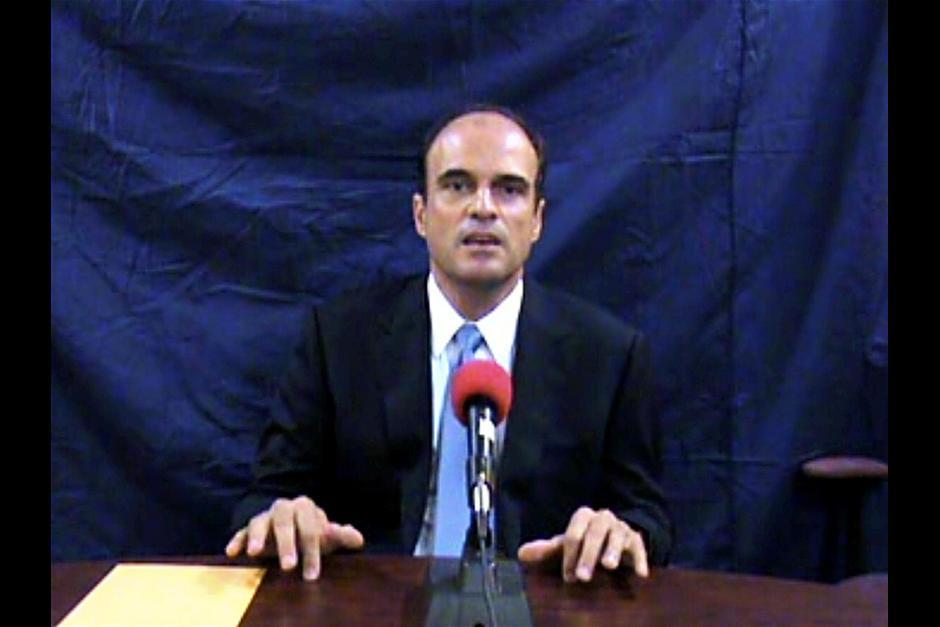 Tras su asesinato, salió a la luz un video del abogado incriminando al presidente Colón. (Foto: Youtube)