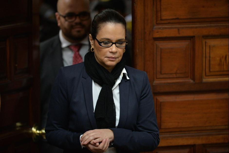 Roxana Baldetti fue diputada durante ocho años. (Foto: Archivo/Soy502)