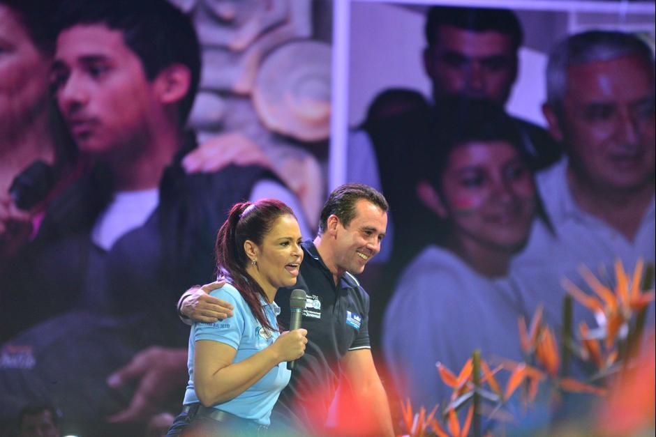 """Después se convirtió en el candidato a presidente más """"fisiquín"""". (Foto: Archivo/Soy502)"""