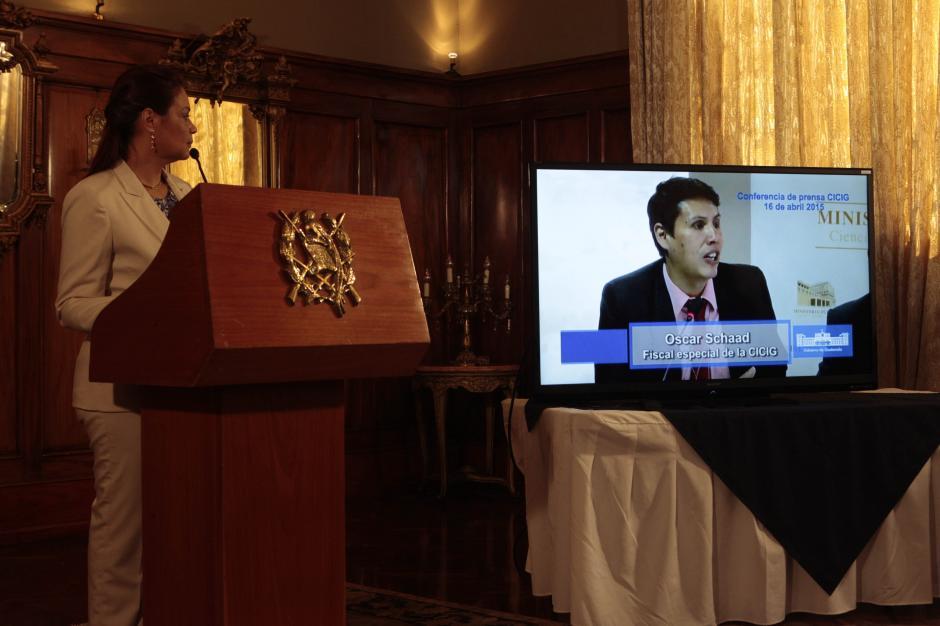 Con un video de la conferencia del MP, Baldetti quiso desligarse del caso. (Foto: Archivo/Soy502)