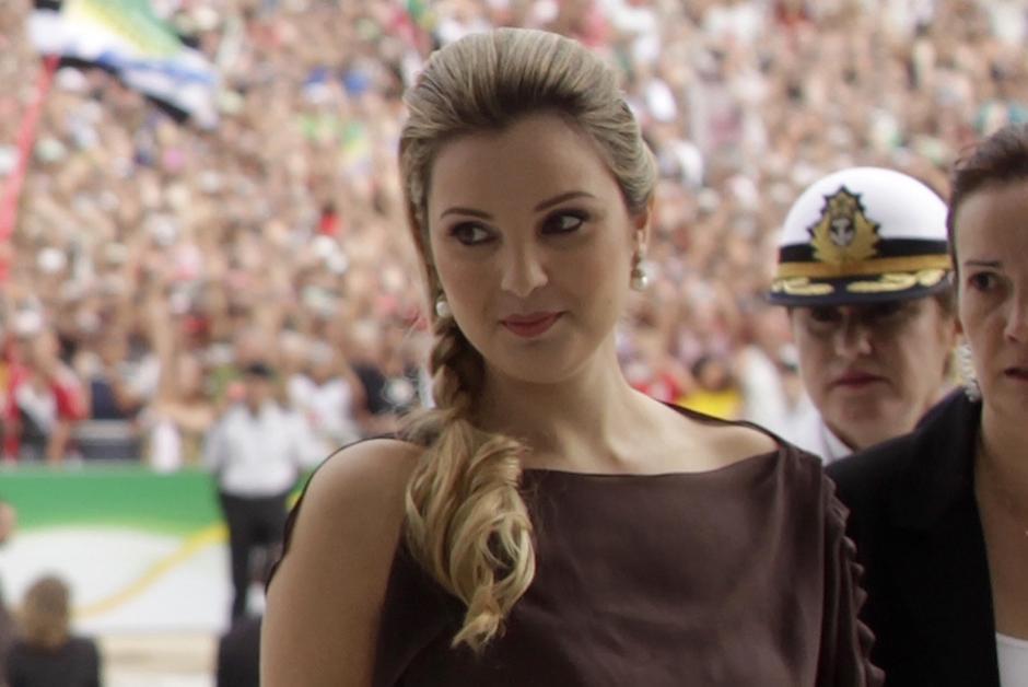 La nueva primera dama de Brasil, Marcela Temer, tiene 33 años y es una exreina de belleza y modelo. (Foto: pri.org)