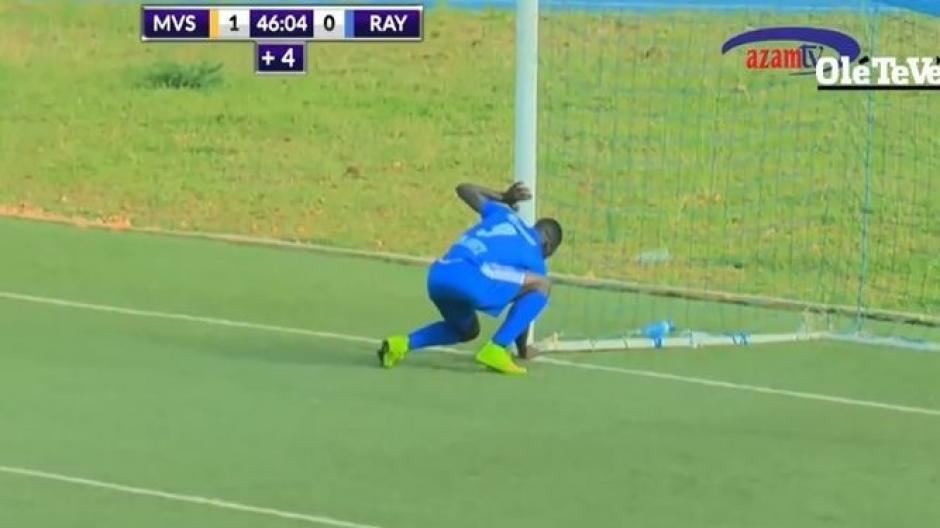 El delantero hace algo en el marco y en la siguiente acción anota el empate.  (Foto: Captura de video)