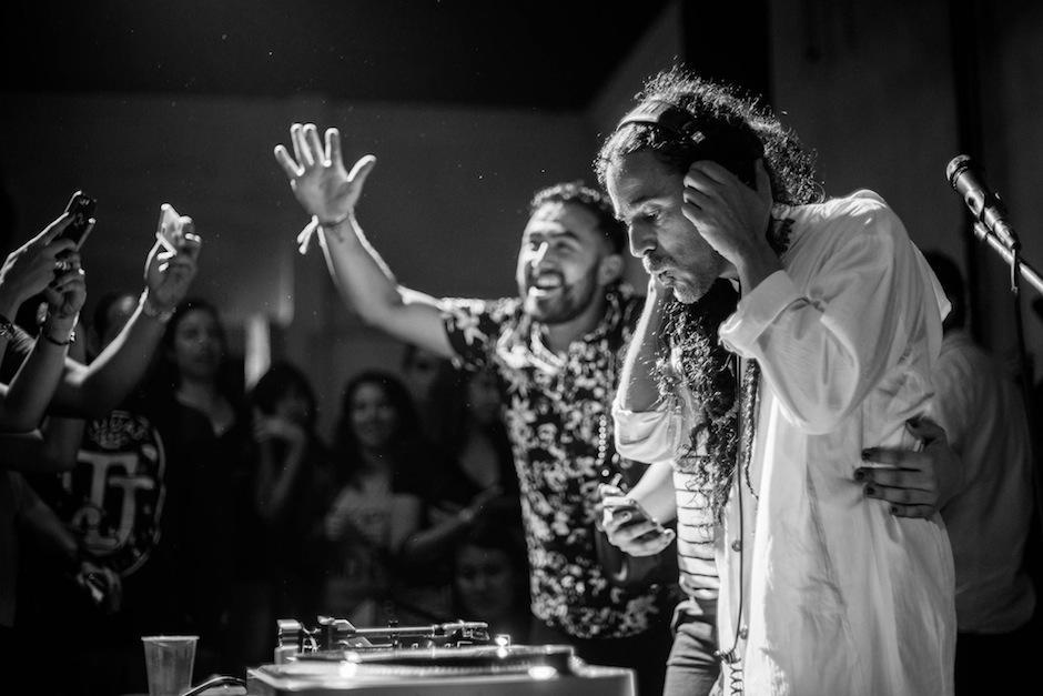 Rubén Albarrán, vocalista de Café Tacvba tiene otro proyecto musical. (Foto: Santa Barbara Bowl)