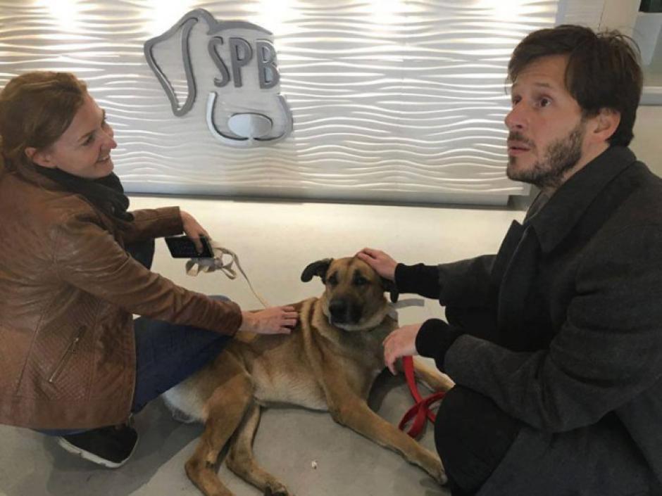 """Luego de varios meses de trámites, """"Rubio"""" pudo reunirse con Olivia en Alemania. (Foto: Facebook/Olivia Sievers)"""