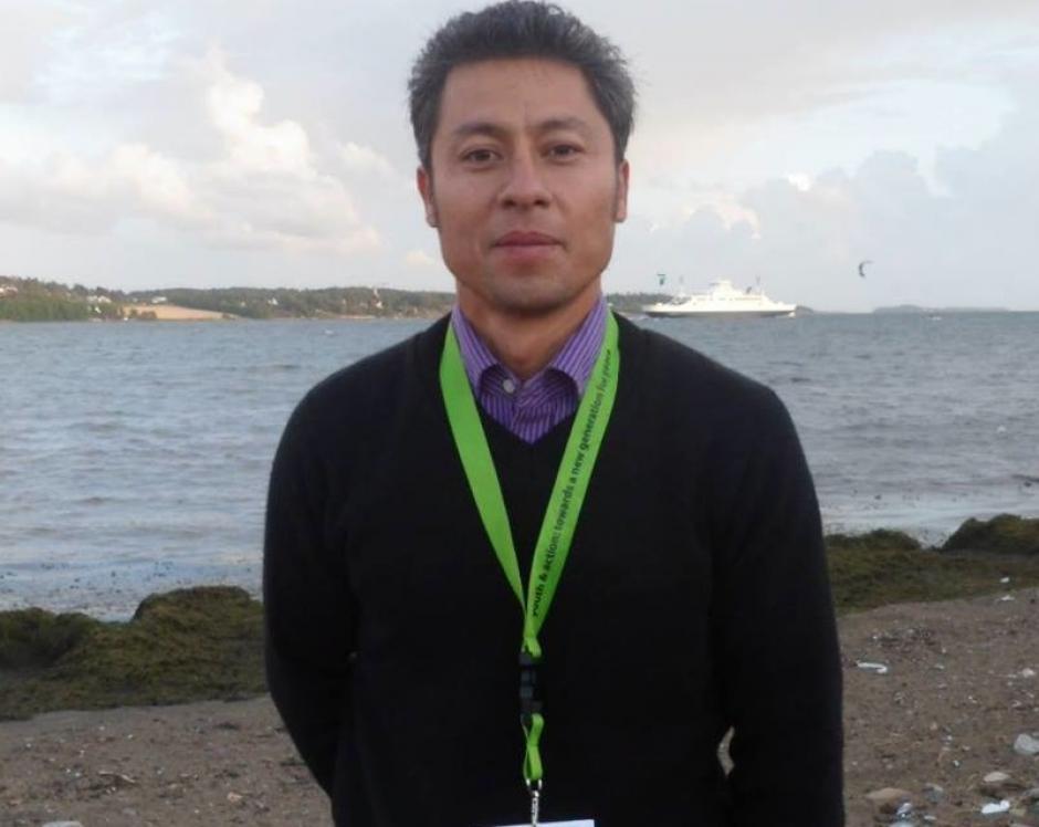 Rudy Alfonzo Gómez de Huhuetenango compartirá su poesía. (Foto: facebook)