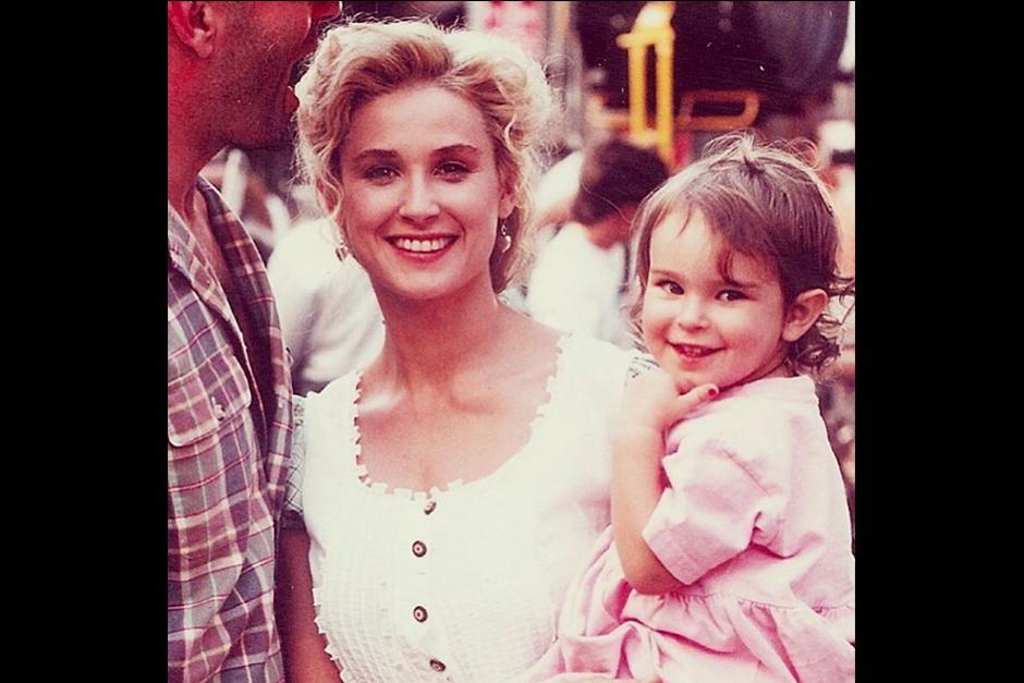 La actriz Rumer Willis, hija de Demi More y Bruce Willis. (Foto: Instagram)