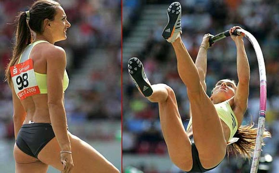 Los encantos y talento de Yelena Isinbayeva han sido reconicidos por el mundo. (Foto: AFP)