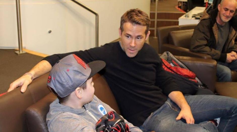 Ryan habla sobre la inteligencia y sentido del humor de Connor. (Foto: repretel.com)