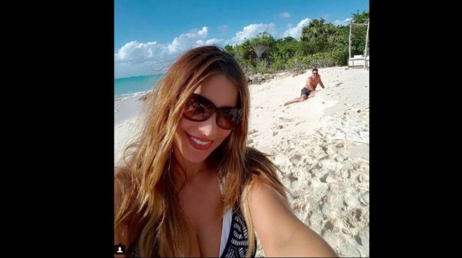 Sofía Vergara y su flamante esposo, el actor Joe Manganiello. (Fotos: Instagram)