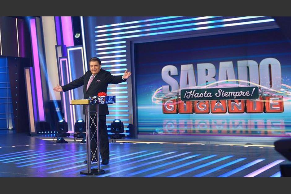 """El clásico programa de la televisión """"Sábado Gigante"""", que conducía el presentador chileno Don Francisco. (Foto. tiempo.hn)"""