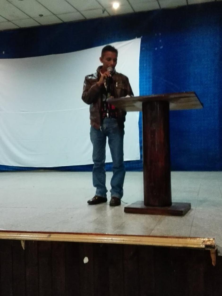 Sabino Esteban, poeta de Ixcan, participará en el FIPQ. (Foto: facebook)