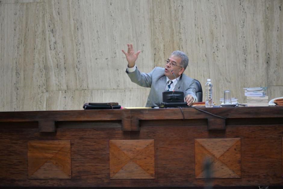 El juez Miguel Ángel Gálvez sigue el caso Cooptación del Estado. (Foto: Wilder López/Soy502)