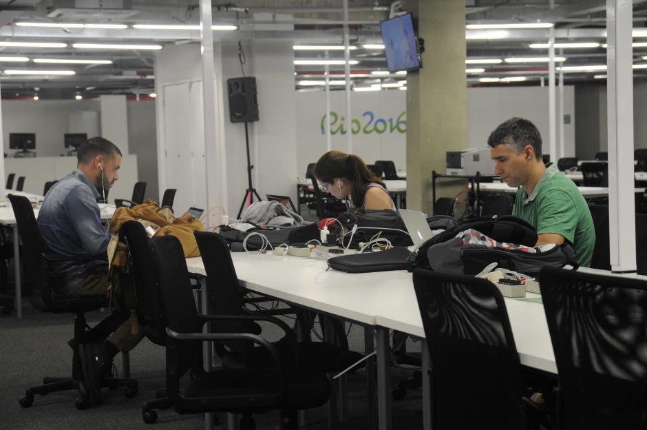 La sala de prensa acreditada para Río 2016 espera cerca de 5 mil periodistas. (Foto: Pedro Pablo MIjangos/Soy502)