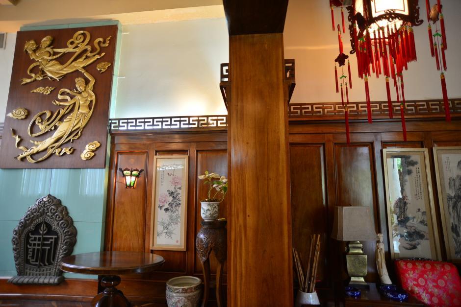 Este es el salón Chino, cuya decoración fue un regalo de China, Taiwán, como símbolo de amistad. (Foto: Wilder López/Soy502)