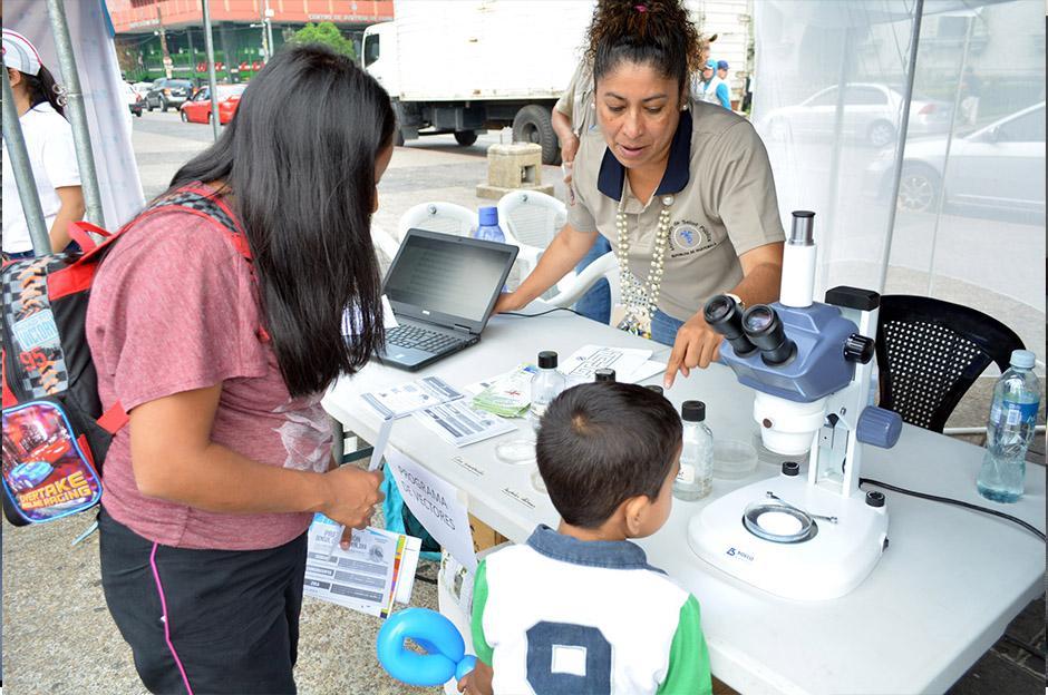 Durante el Día del Desafío, se llevó a cabo la Feria de la Salud. (Foto: Ministerio de Salud)