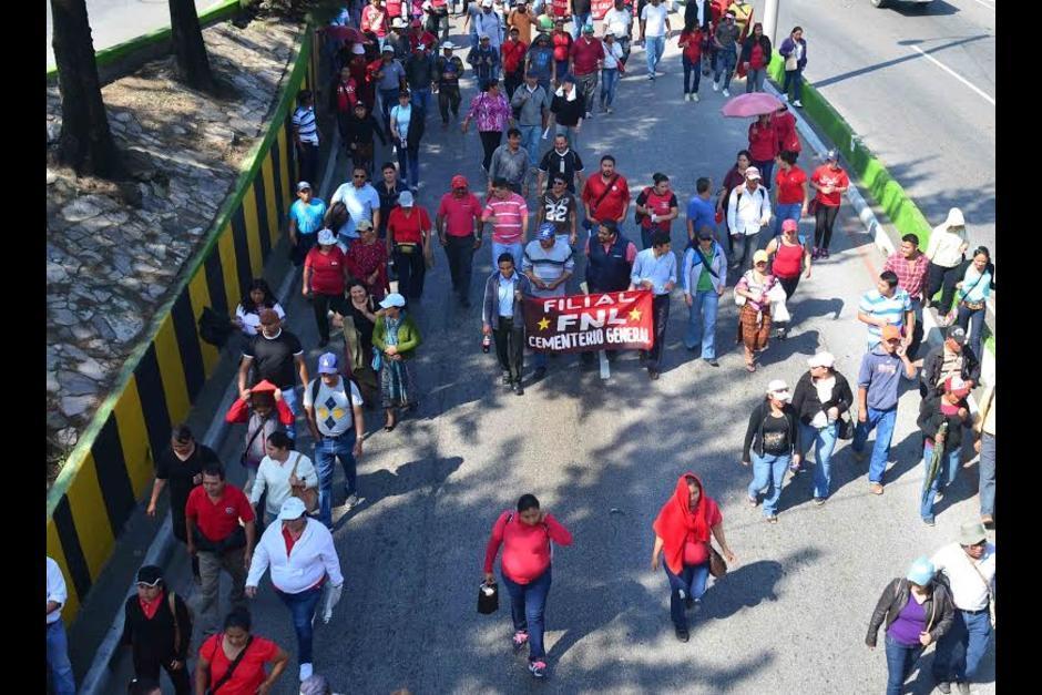 Los sindicatos del sector salud manifestarán esta semana. (Foto: Archivo/Soy502)