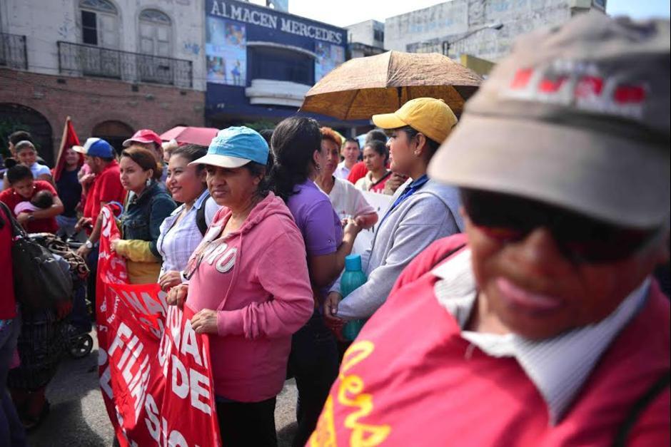 Se anunciaron protestas para los próximos días. (Foto: Archivo/Soy502)