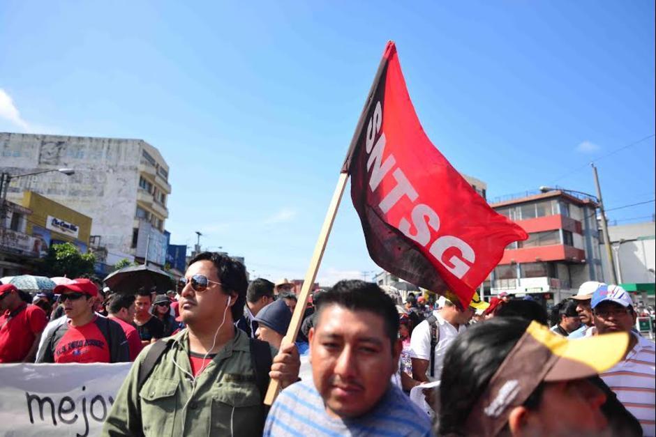 El Frente Nacional de Lucha promueve la manifestación. (Foto: Archivo/Soy502)