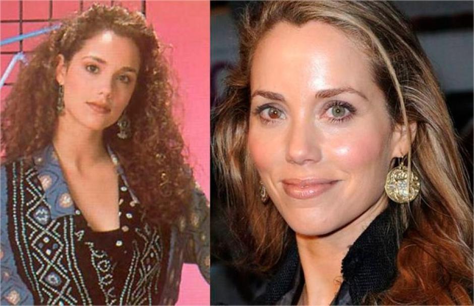 """Elizabeth Berkley quien protagonizó a """"Jessie Spano"""" si que ha cambiado. (Foto: Twitter)"""