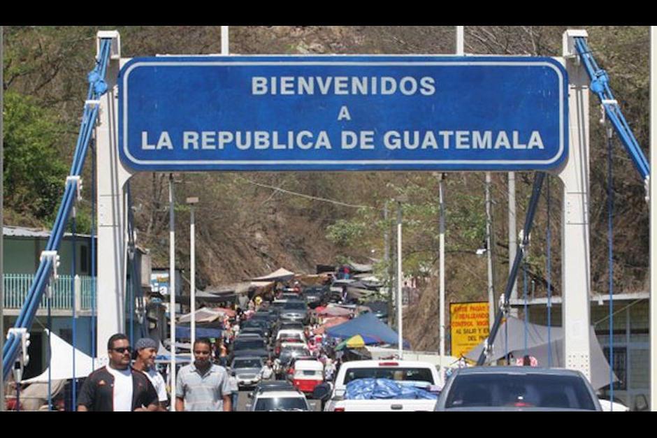 Así se observa en la frontera conocida como Las Chinamas. (Foto: El Salvador.com)