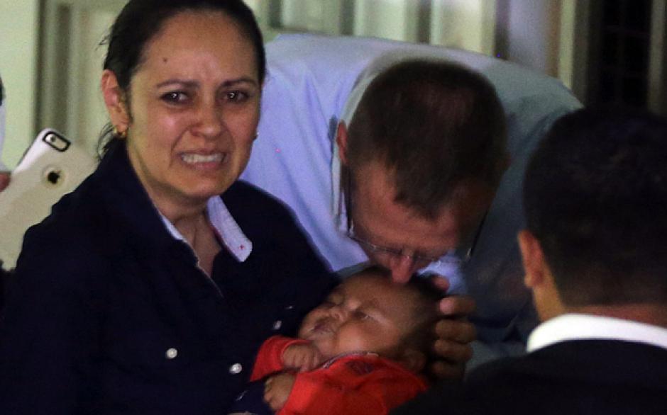 La insistencia de la enfermera convenció a Mercy de que ese era su hijo. (Foto: Telegraph)