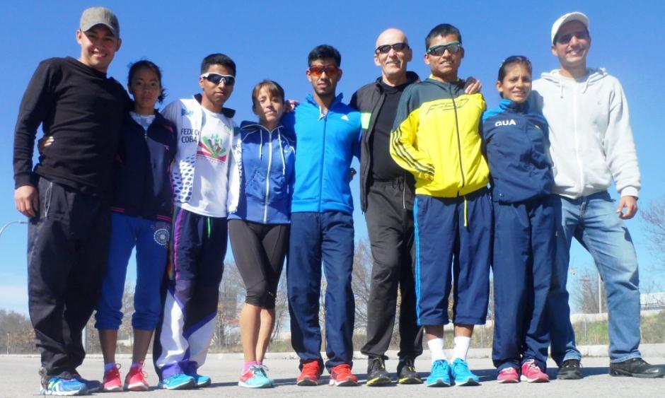 Selección de marcha en Guadalajara, España