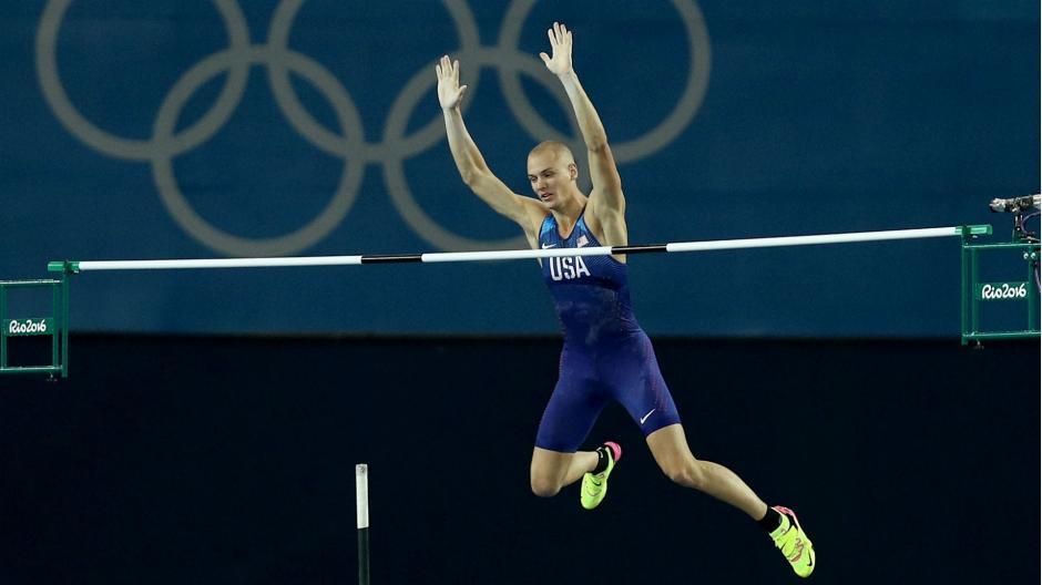 Kendricks se hizo acreedor a una medalla de bronce con su salto.  (Foto: sportingnews.com)