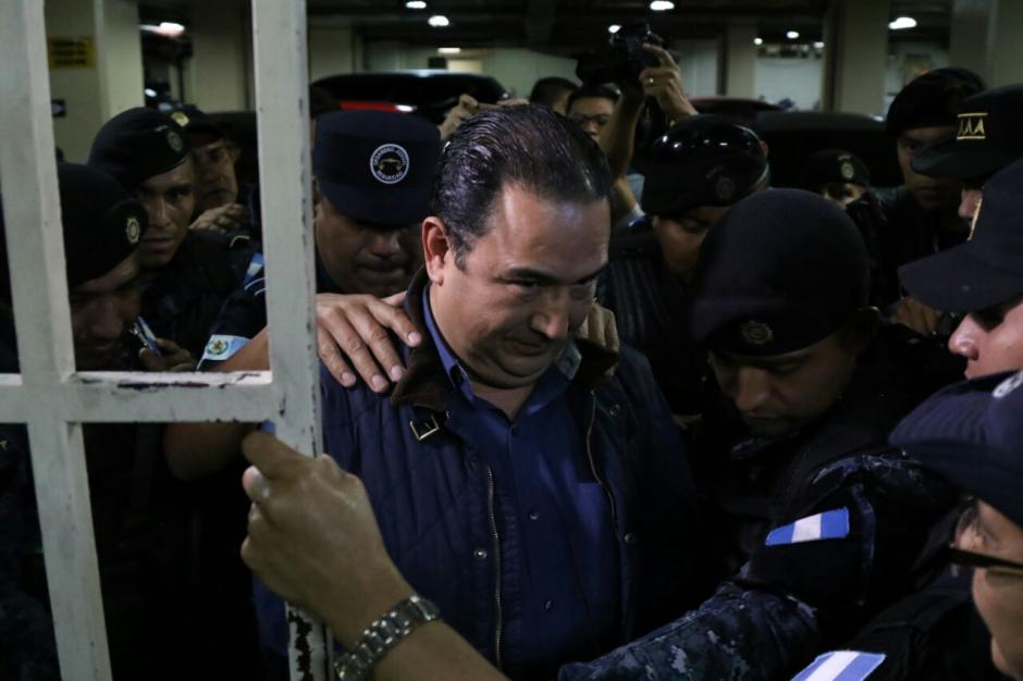 Sammy Morales fue ligado a proceso penal en el caso Botín en el Registro de la Propiedad. (Foto: Alejandro Balán/Soy502)