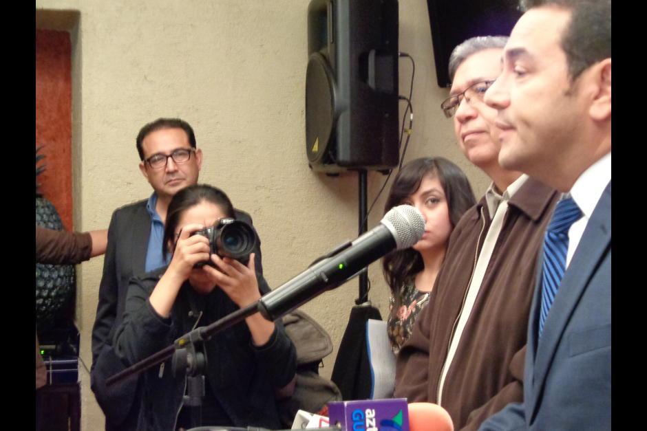 Durante la campaña política, Sammy Morales acompañó a su hermano. (Foto: Archivo/Soy502)