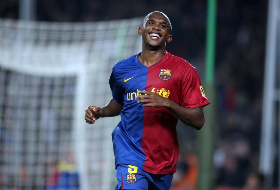 Eto´o vistió la camiseta del FC Barcelona entre 2004 y 2009. (Imagen: captura de YouTube)