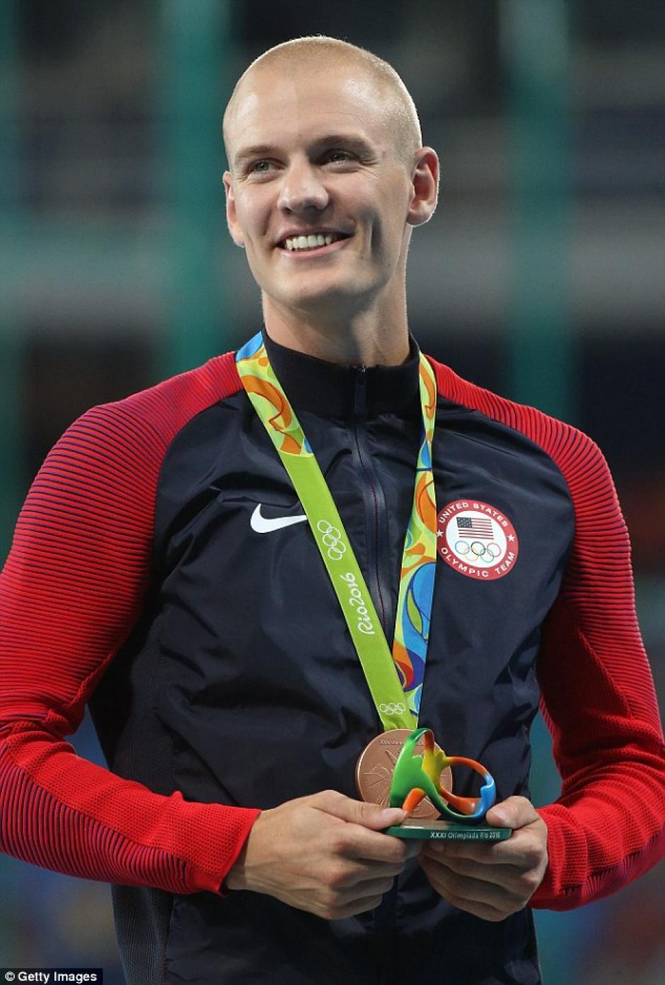 A pesar de detener su participación, Kendricks se marchó de Río 2016 con una medalla de bronce. (Foto: Daily Mail)