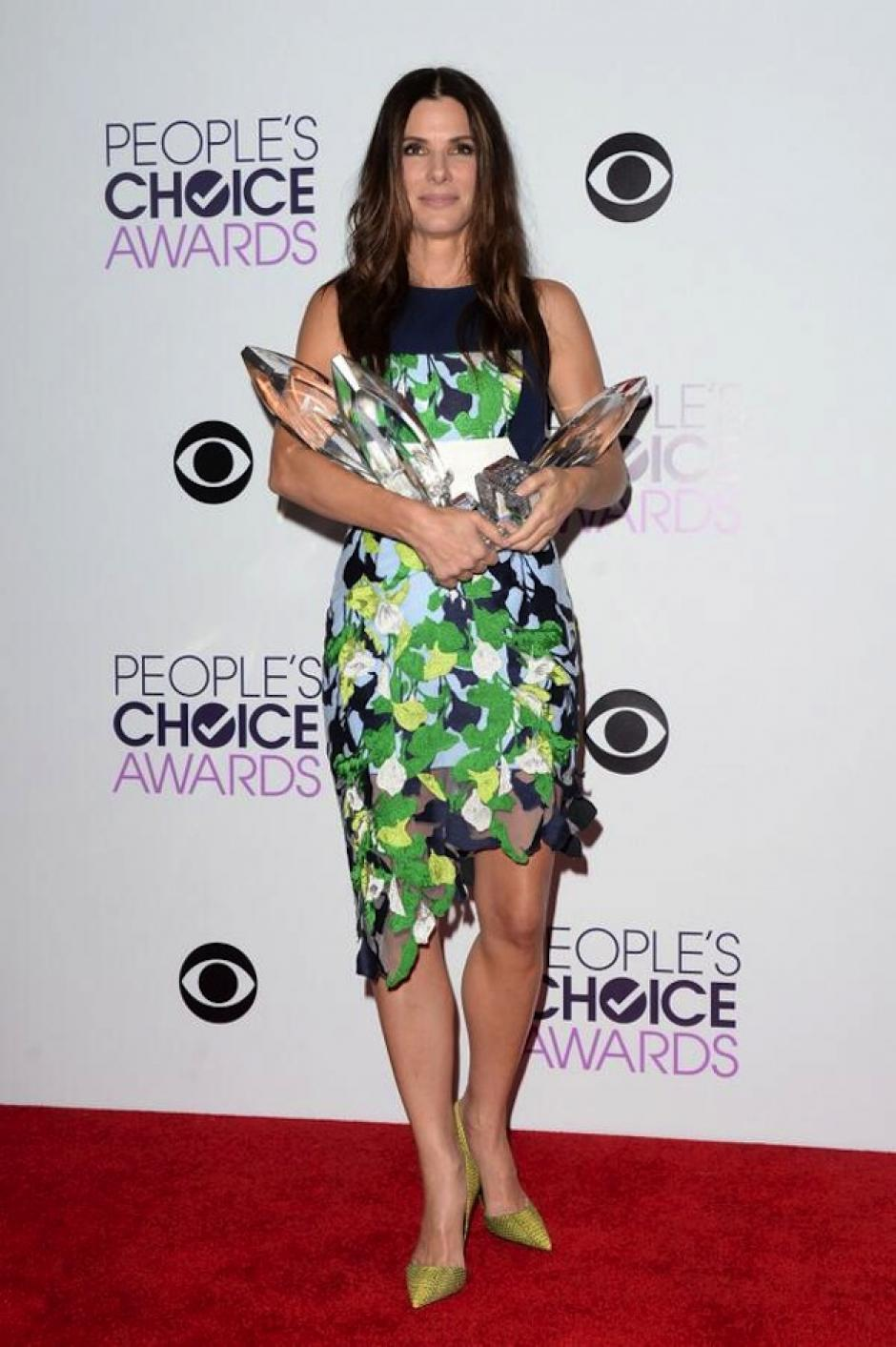 Sandra Bullock arrasó con los premios. (Foto: People's Choice Awards)