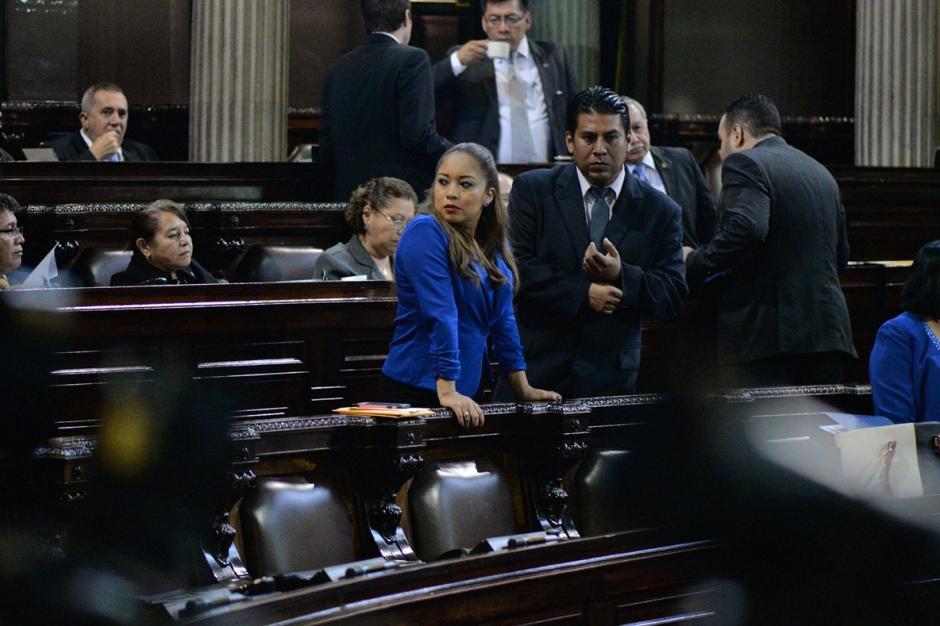 La diputada Sandra Cruz fue la última tránsfuga de la historia. (Foto: Wilder López/Soy502)