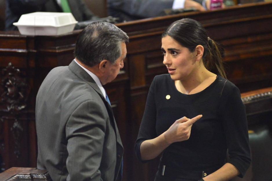 Sandoval denunció a su jefe de bancada por acoso. (Foto: Archivo/Soy502)
