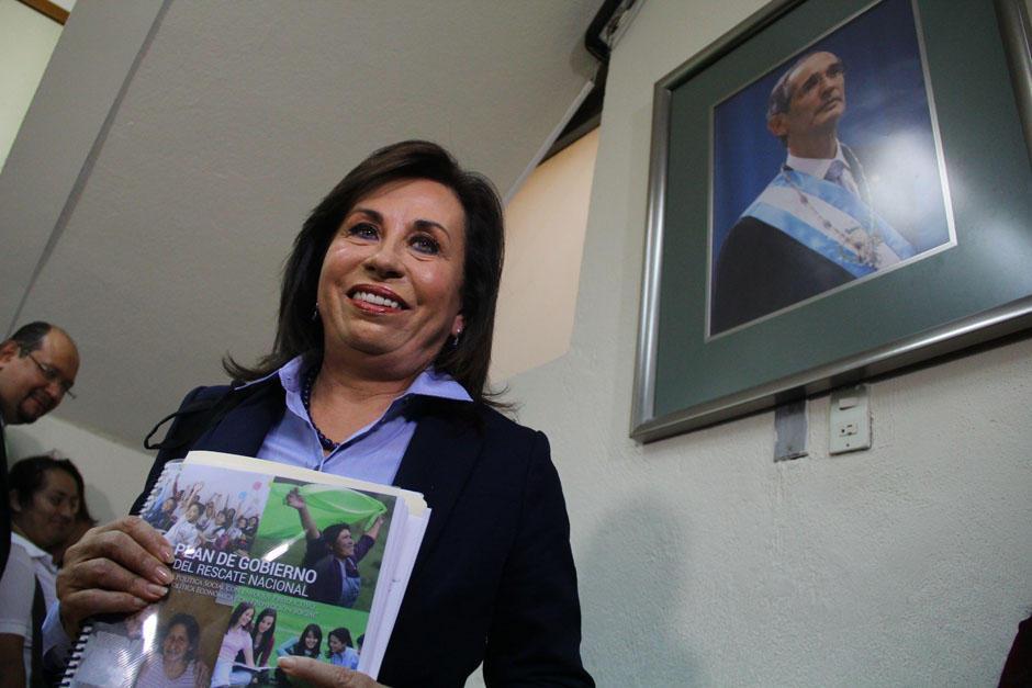 Sandra Torres continúa como Secretaria General de la UNE. (Foto: Archivo/Soy502)