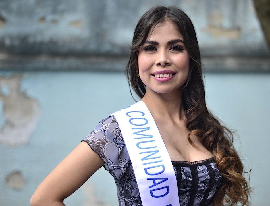Sandy Cachin representó a la Comunidad de Sordos de Guatemala en Miss Guatemala Latina. (Foto: Selene Mejía/Soy502)