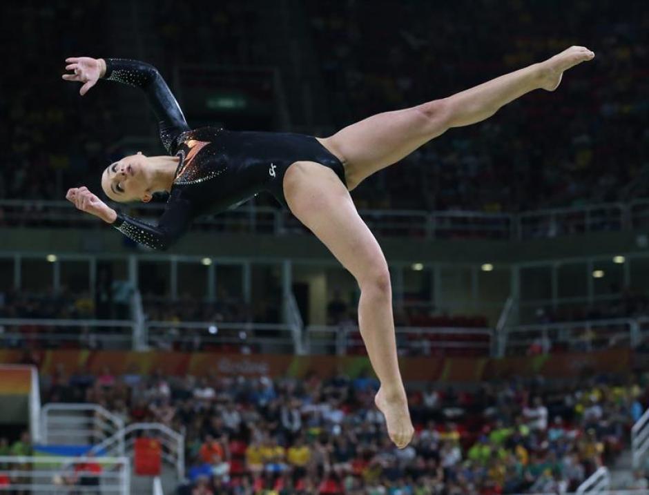 Sanne Wevers tuvo una actuación sin errores y ganó el oro para Holanda. (Foto: EFE)