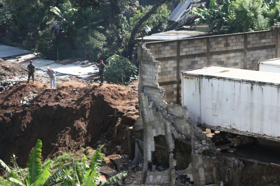 Así se observa el lugar, luego de la tragedia ocurrida por las lluvias. (Foto: Alejandro Balán/Soy502)