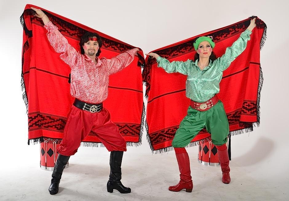 El show está cargado de cultura latina también. (Foto: Selene Mejía/Soy502)