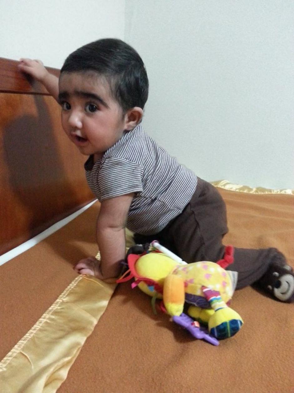 La recuperación del pequeño Santiago ha sido sorprendentemente rápida y exitosa. (Foto: Padres de Santiago)