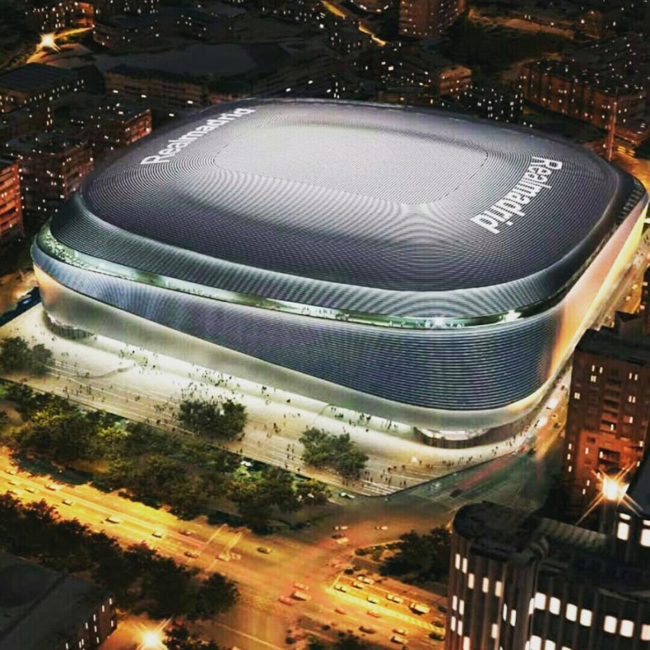 Así lucirá el Santiago Bernabéu tras ser remodelado. (Imagen: nuevoestadiobernabeu.com)