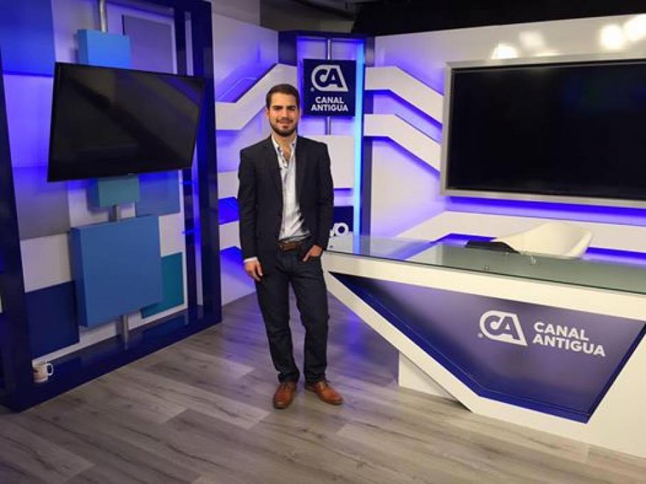 Santiago Palomo es uno de los analistas en Canal Antigua. (Foto: Santiago Palomo Vila/Facebook)