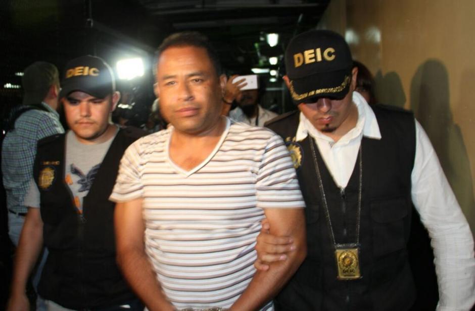 El exdirector del Hogar Seguro Virgen de la Asunción fue detenido. (Foto: PNC)