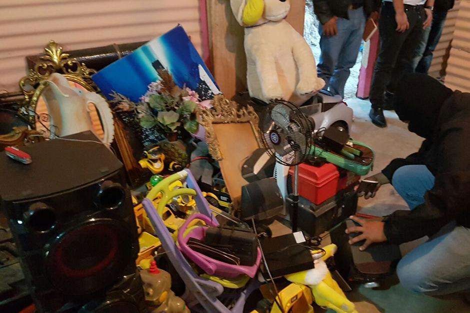 Las autoridades realizaron 30 allanamientos para desarticular a esta banda de saqueadores. (Foto: PNC)