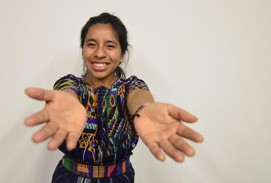 El arte de Sara quiere realizar cambios. (Foto: Selene Mejía/Soy502)