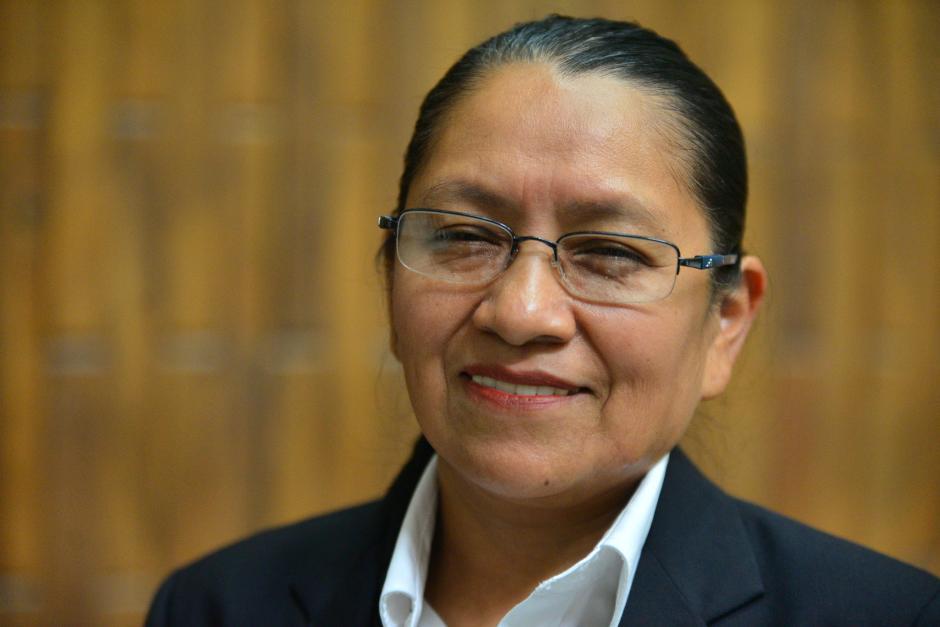 Sara Gricelda Yoc Yoc actualmente ocupa el cargo de jueza del Tribunal de Mayor Riesgo B. (Foto Wilder López/Soy502)