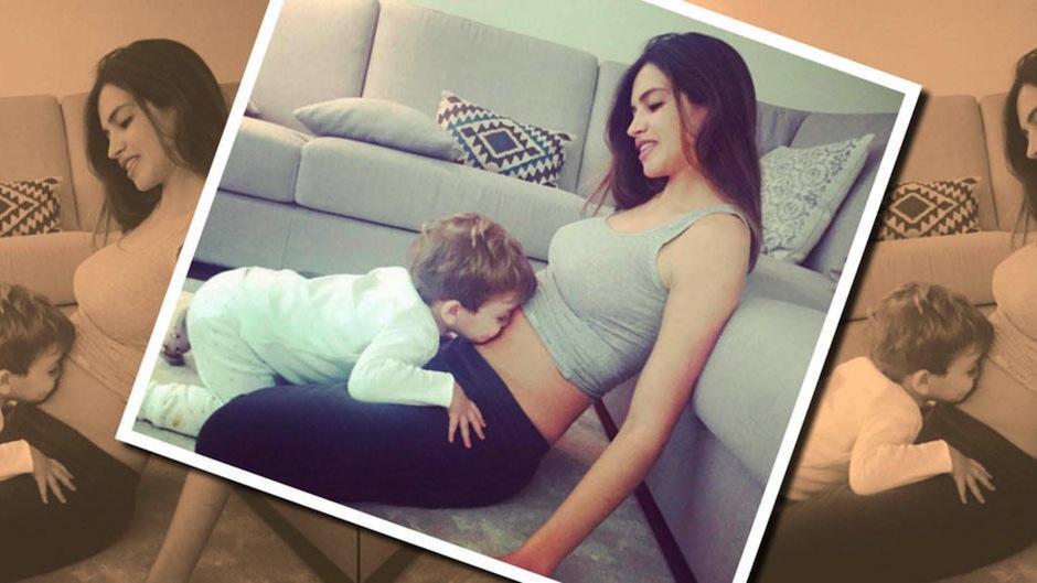 Pronto Sara anunció en instagram a su nuevo hijo. (Foto: Instagram)