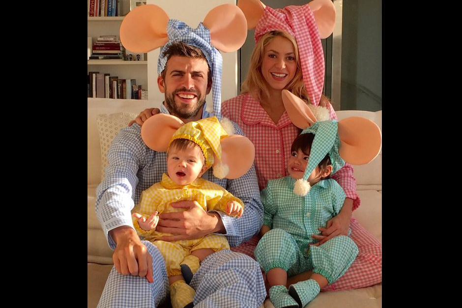 Shakira y Piqué tienen dos hijos y viven en Barcelona. (Foto: Archivo)