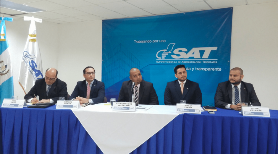 El jefe de la SAT ofreció alcanzar la meta de recaudación este año. (Foto: José Miguel Castañeda/Soy502)
