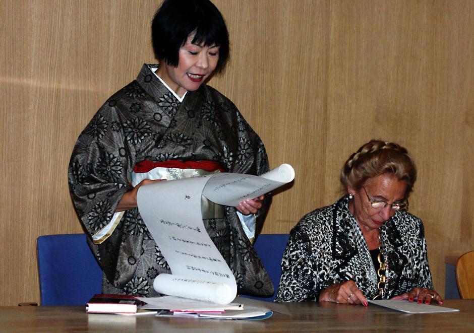 Satoko Tamura (Japón), compartirá sus letras. (Foto: crearensalamanca.com)